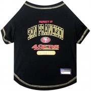 Pets First NFL San Francisco 49ers tee Shirt, Medium