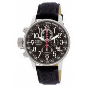 Invicta Watches Invicta Men's 1512 I Force Stainless Steel Watch with Cloth and Leather Strap BlackBlack