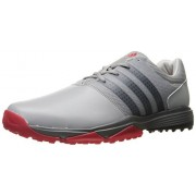 adidas Men's 360 Traxion Ltonix/Cblack Golf Shoe, Grey, 13 M US