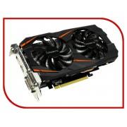 Видеокарта GigaByte GeForce GTX 1060 1556Mhz PCI-E 3.0 6144Mb 8008Mhz 192 bit DVI HDMI GV-N1060WF2OC-6GD