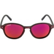 Voyage Oval Sunglasses(Violet)