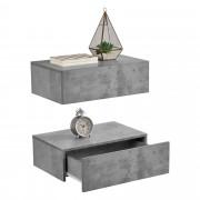 [en.casa] Noční stolek 2 x AANK-2503