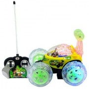 Multicolour Plastic Ben 10 Stunt Car
