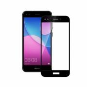 Folie protectie sticla securizata full size Huawei P9 Lite mini 2017, negru