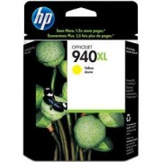 HP 940XL Yellow Officejet Ink Cartridge ( C4909AE ) - HP Officejet Pro 8000,HP Officejet Pro 8500