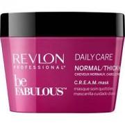 Revlon Professional Cuidado del cabello Be Fabulous Daily Care Normal/Thick Hair C.R.E.A.M. Mask 500 ml