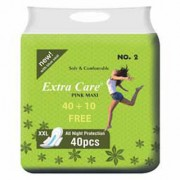 Combo Extra Care Pink Maxi Platinum (Pack Of-50)