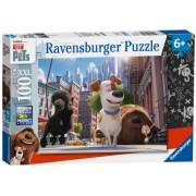 Puzzle Viata Secreta A Animalelor, 100 Piese Ravensburger