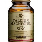 Calcium Magnesium + Zinc Solgar 100tb