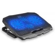 """Cooler Laptop White Shark CP-25 Ice Warior 17.3"""" (Negru)"""