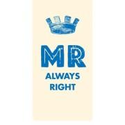 Magnetische boekenlegger: mr always right