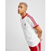 adidas Originals 3-Stripes California Short Sleeve T-Shirt Heren - Wit - Heren