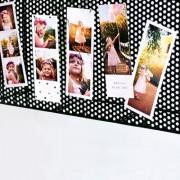 smartphoto Magnetiska fotoremsor (Set om 5)