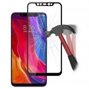 Protector de Ecrã de Cobertura Total Mocolo para Xiaomi Mi 8, Mi 8 Explorer - Preto