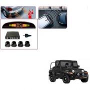 Auto Addict Car Black Reverse Parking Sensor With LED Display For Mahindra Thar
