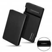 2.5 inch SATA 22Pin 7+15 SSD to USB 3.0 External Hard Disk Enclosure for Laptop & PC & Macbook