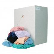 Euro Products Poetsdoeken p13222 8kg bont hoeslaken gewassen Badstof (p13222)