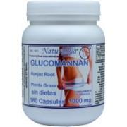 Glucomannan - Konjac Root 180 Capsulas 1000mg