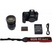Canon »EOS 6D Mark II« Spiegelreflexkamera (EF 24-105mm IS STM, 26,2 MP, NFC, HDR-Aufnahmen)