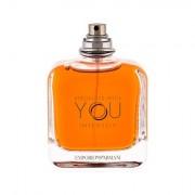 Giorgio Armani Emporio Armani Stronger With You Intensely eau de parfum 100 ml Tester uomo