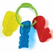 Set 3 jucarii pentru dentitie pentru bebelus - Chei de masinute