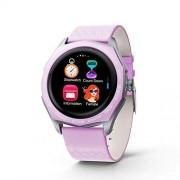 RONSHIN Pulsera inteligente con Bluetooth para ritmo cardíaco, con correa de cambio de color Rosa SZXSQ-1120PEL_0C23V6RS