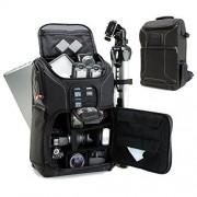 USA Gear GEAR S17 Mochila Cámara Digital Réflex SLR / Bolsa Backpack Cámaras DSLR , Objetivos y Accesorios Para Canon EOS Rebel T6 T5 T6i 80D T5i 70D 5D Nikon D750 D3300 D3400 D500 D5300 D550 D610 y más