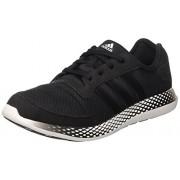 adidas Men's Element Refresh M Black and White Mesh Running Shoes - 10 UK