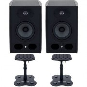 Focal-JMlab Alpha 50 Desktop Mount Bundle