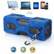 VINA MS-329 impermeable NFC inalambrico Bluetooth 4.0 altavoz para celulares / Tablet / PC-azul + negro