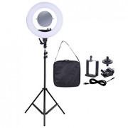 Studio Diva Camera Phone Holder, mirror, bag Kit for Photographic Make Up Selfie Video Photo Tolifo R-40B - Accesorii lampa circulara