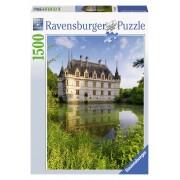 Ravensburger puzzle castelul azay le rideau 1500 piese