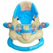 Oh Baby Baby Duck Shape Adjustable Musical Blue Color Walker For Your Kids FJL-MBH-Se-W-70
