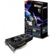 Sapphire 11265-01-20G Radeon Nitro+ Rx 580 8GB GDDR5 Dual HDMI / DVI-D / Dual DP mit Backplate (UEFI) PCI-E Grafikkarte