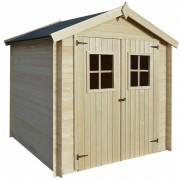 vidaXL Abrigo de jardim 2x2 m 19 mm madeira