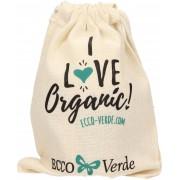 EccoVerde I Love Organic Zuziehbeutel - 1 Stk