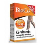 BioCo K2-vitamin 50mcg tabl. 90 db