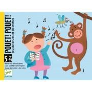 Gra w kalambury dla dzieci z kartami - można krzyczeń i naśladować, Pouet! Pouet!, DJECO DJ05152