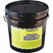 Base Eater Caustic Absorber & Neutralizer - 10-Lbs., 2-Gal. Pail, Model 4903-002