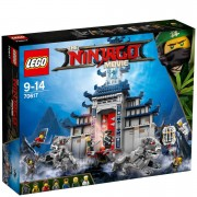 Lego The LEGO Ninjago Movie: Templo del arma totalmente definitiva (70617)