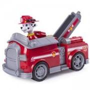 Игрален комплект Пес Патрул - Трансформираща се пожарна кола на Маршал, 025026