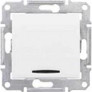 SEDNA Jelzőfényes nyomógomb Csengő jelzéssel 10 A IP20 Fehér SDN1600121 - Schneider Electric