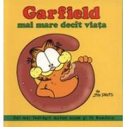 Garfield mai mare decit viata