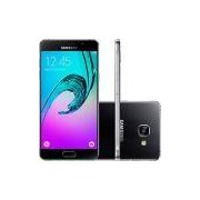Smartphone Samsung Galaxy A7 2016 Dual Chip Android 5.1 Tela 5.5 16GB 4G 13MP - Preto