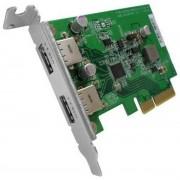 QNAP USB 3.1 Gen 2 10Gbps Type-A Dual-port PCIe Card