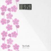 Cantar corporal Tefal Premiss PP1078V0 150kg 100g 28x28cm Alb