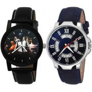 New Professional Pubg - Military - Army Black And Day and Date Dial Blue Analog Watch For MEN And Boys