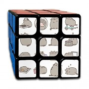 Cube Game Magic Speed Cubes Messenger Cat Pattern Custom Easy Turning and Smooth Play Hands Dice Puzzles