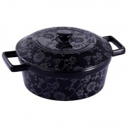 Cratita ceramica cu capac Vabene, capacitate 2.5 l