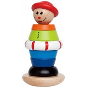 Hape-Wooden Stacking Jack Toddler Toy